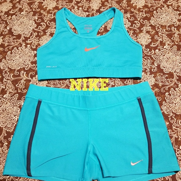 Nike Tops Cute Like New Workout Outfit Short Sports Bra Poshmark